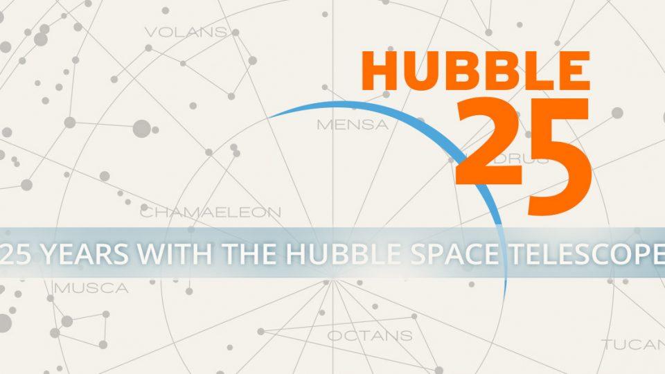 Hubble: 25 años en órbita