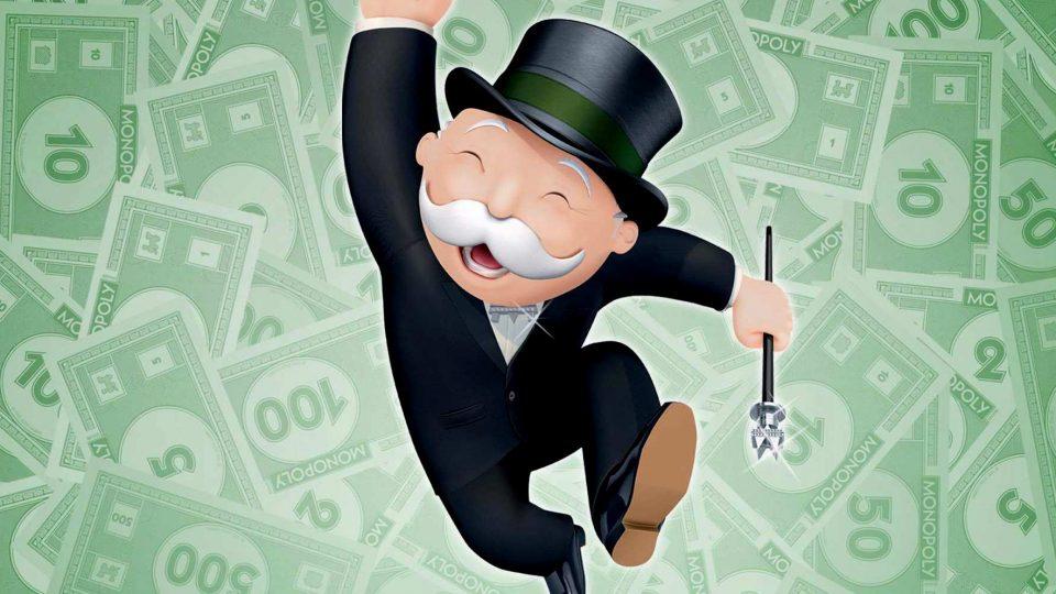 Monopoly esconde dinero real en sus juegos