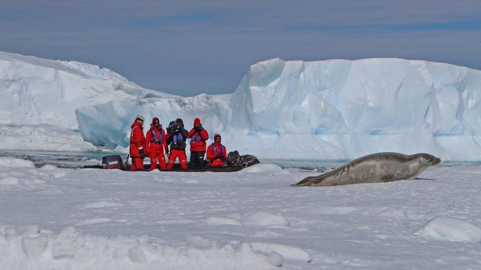 Los Drones llegan a la Antártida