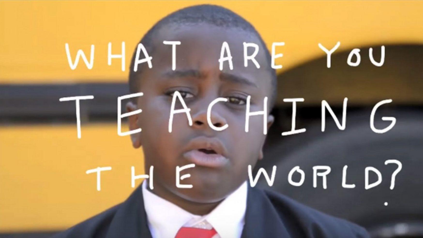 A PEP TALK BY KID PRESIDENT