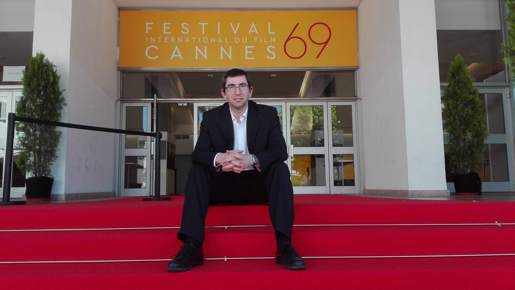«Soy un apasionado del cine que no llega a fin de mes» Arturo Méndiz, ganador de La Palma de Oro en Cannes