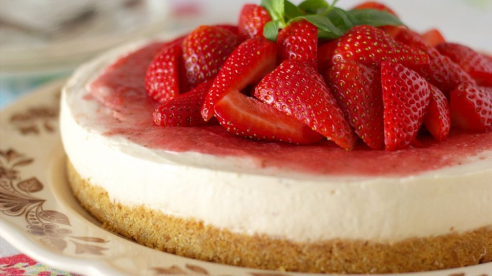 12 Pasos para preparar un Strawberry Cheesecake perfecto