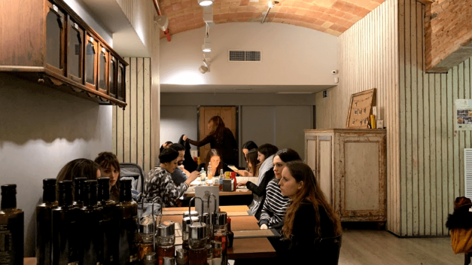 El restaurante 'König' triunfa en la capital catalana