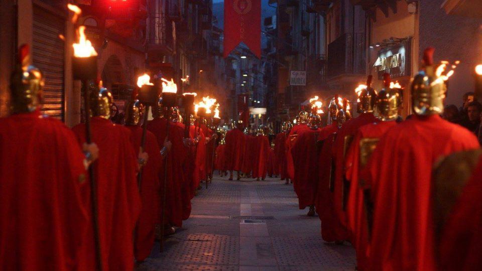 Los romanos toman las calles de Camprodón