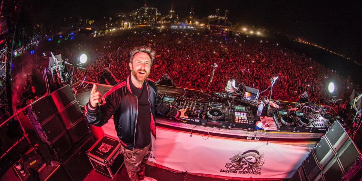 David Guetta Barcelona Beach Festival