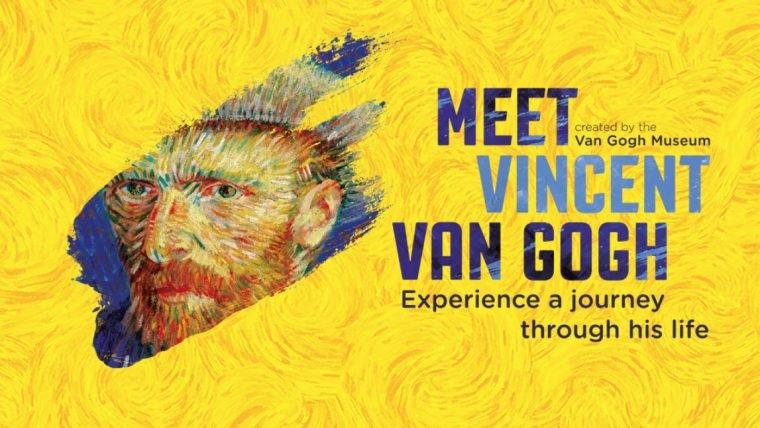 Cartel de la exposición de Vincent Van Gogh