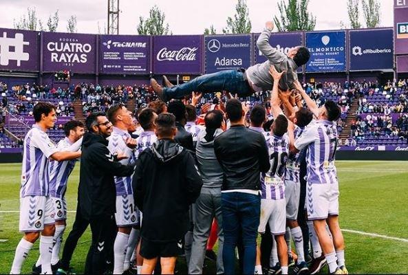 Valladolid sigue en primera Instagram