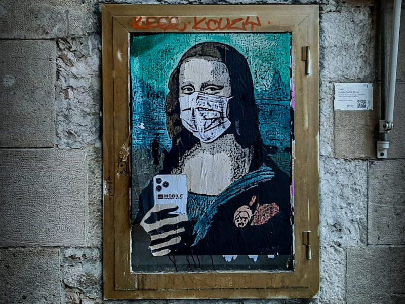 «Mobile World Virus»: Artist criticizes paranoia of Corona Virus