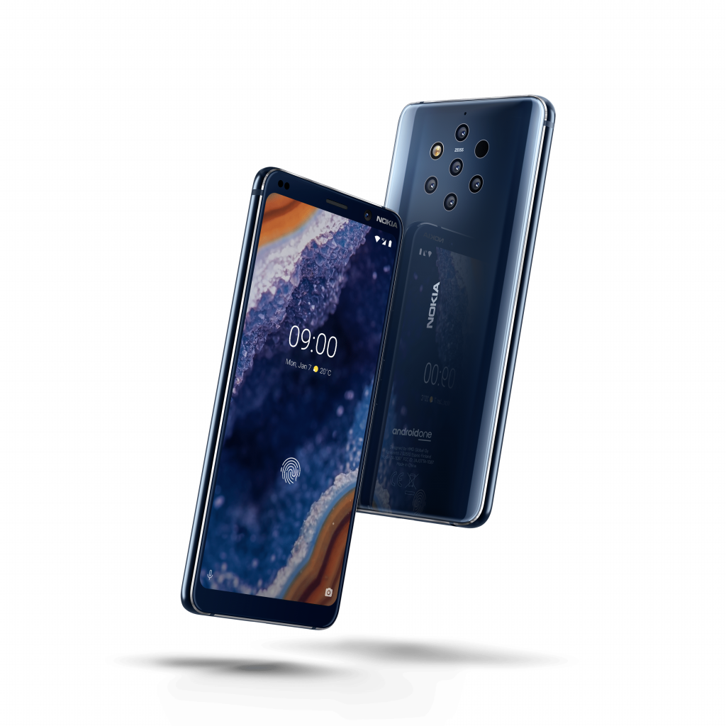 Example image of the new Nokia 9 PureView for the MWC