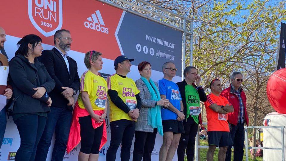 Participación récord en la Unirun 2020