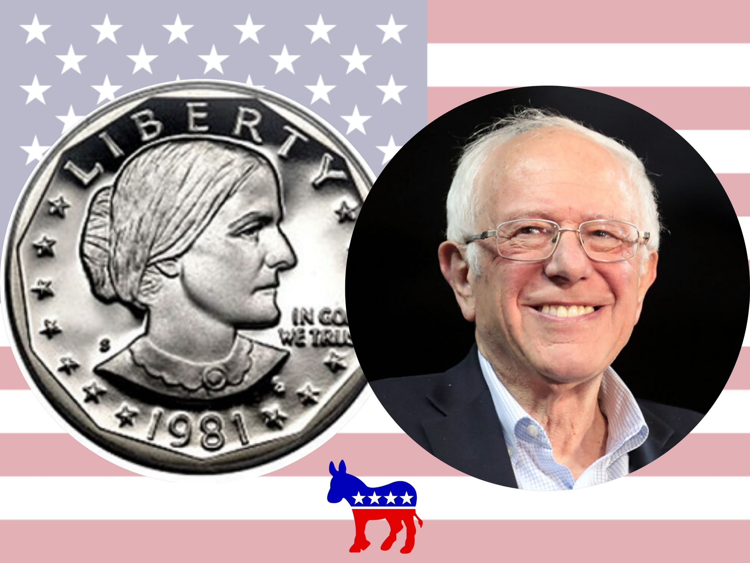 Sanders, the left-wing candidate