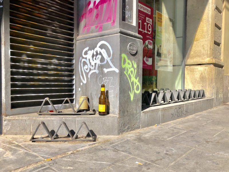 Hostile urbanism: a subtle public violence against the most disadvantaged