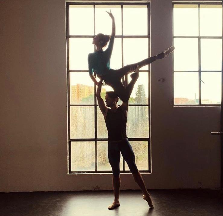 Victoria, bailarina de ballet clásico