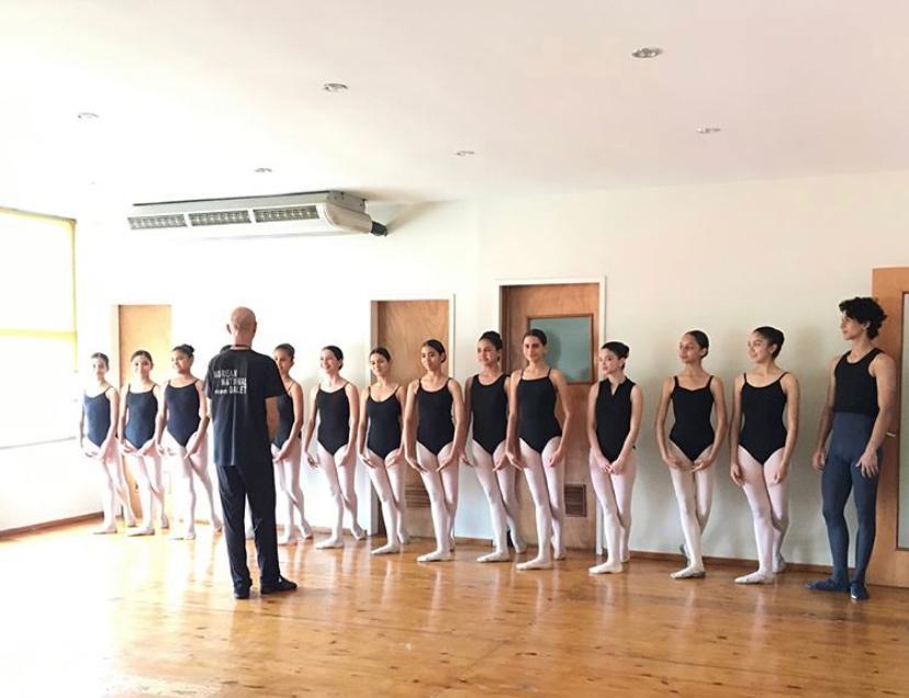 alumnas allegro estudio ballet
