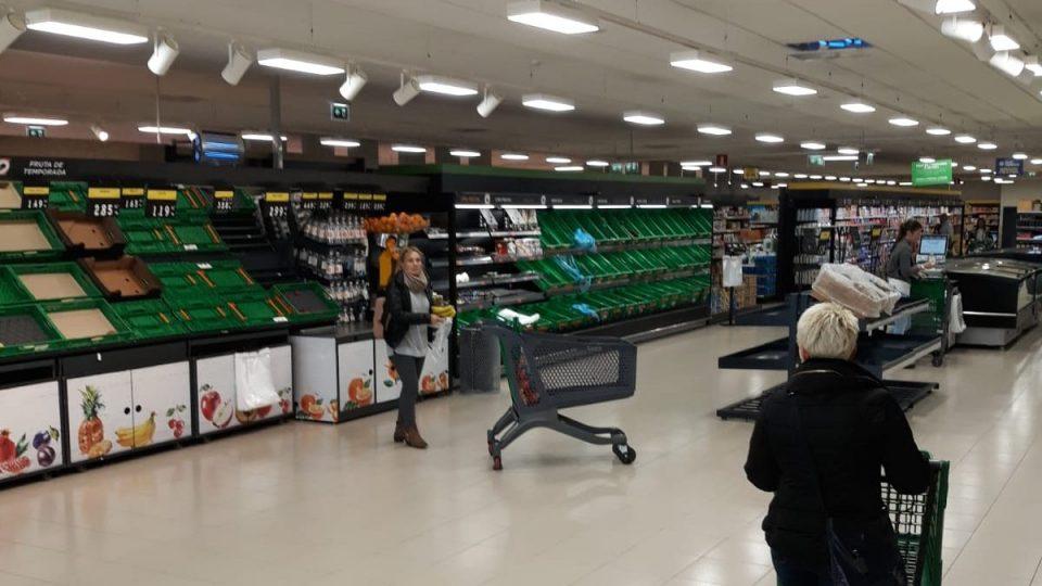 Los supermercados tras 21 días de confinamiento