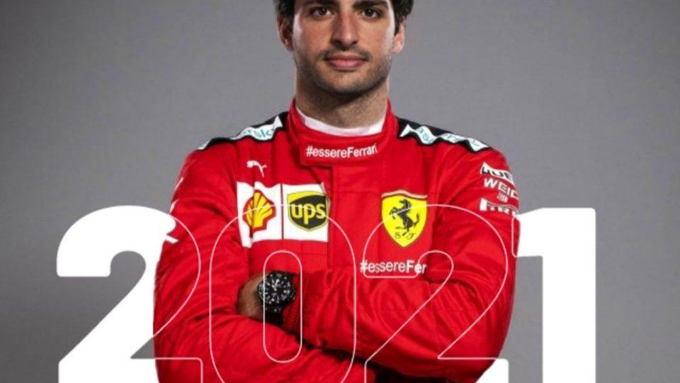 Ferrari escoge a Carlos Sainz Jr