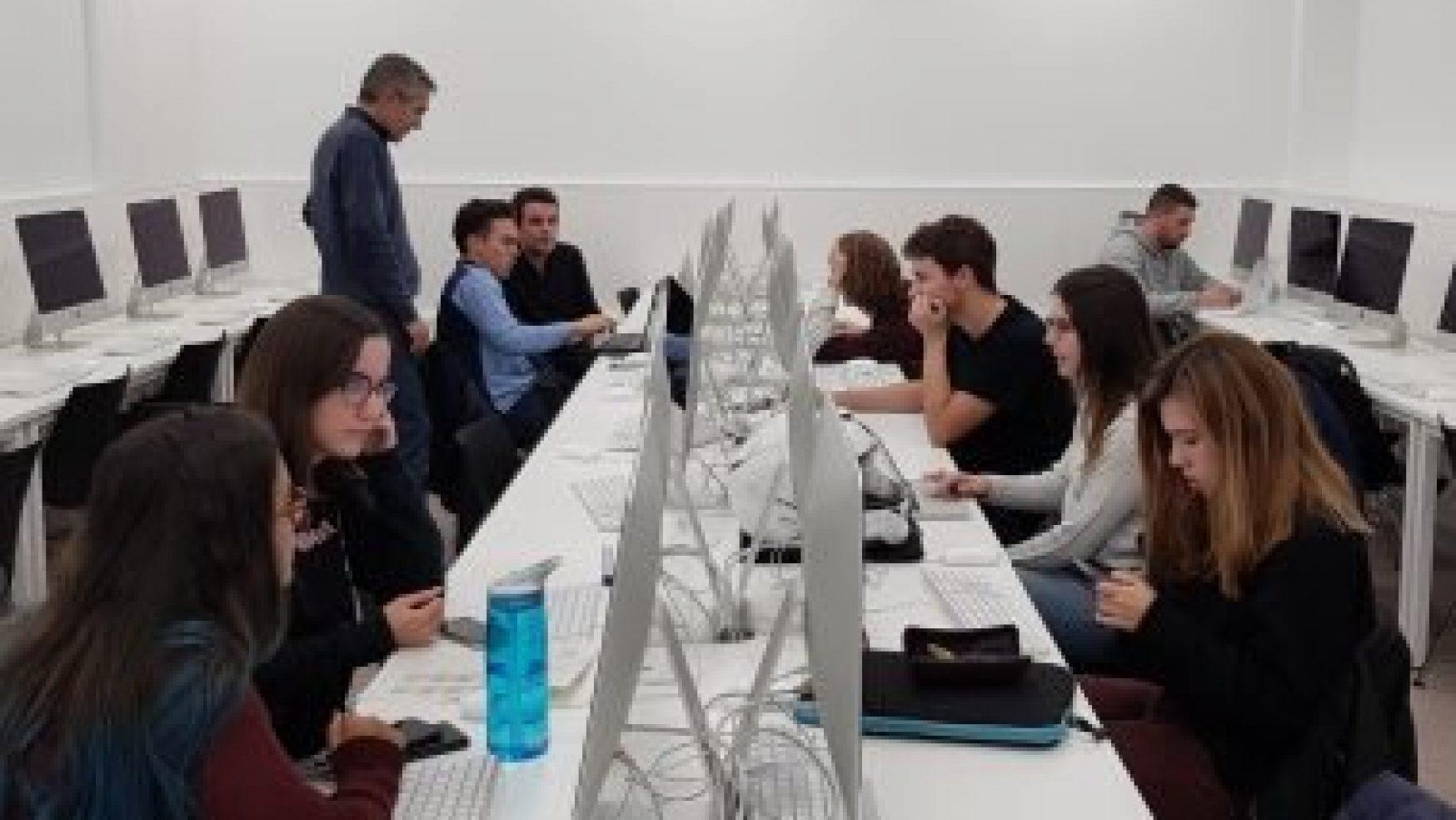 Los alumnos se despiden de 'Aula News' con un vídeo-homenaje
