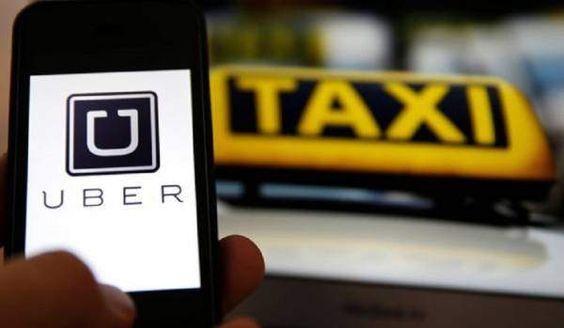 La guerra del taxi contra Uber