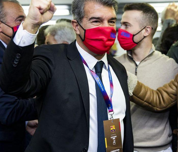 Joan Laporta vuelve a presidir el FC Barcelona