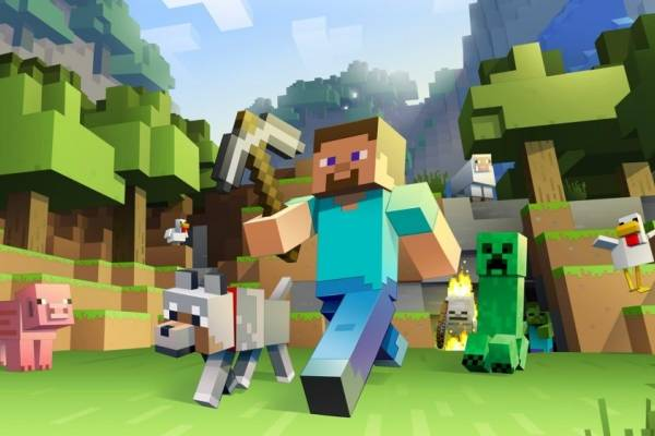 Portada oficial de Minecraft / Mojang