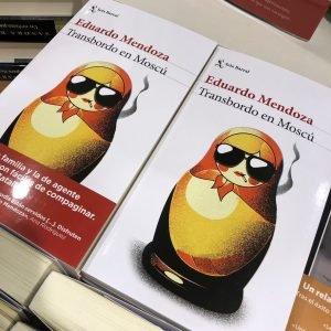 Transbordo en Moscú, el libro de Eduardo Mendoza