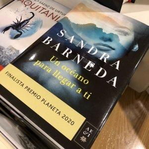 Libro Sandra Barneda, un océano para llegar a ti