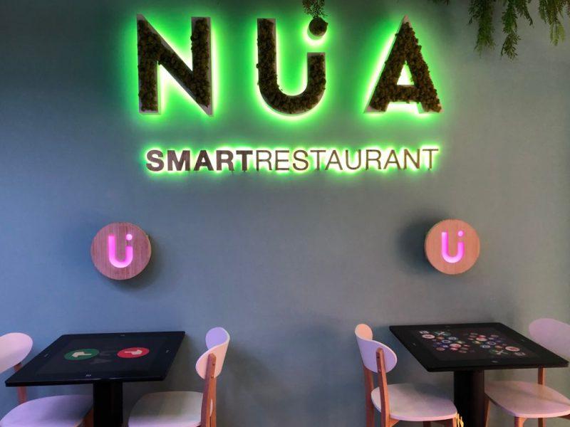 Una experiencia gourmet futurista