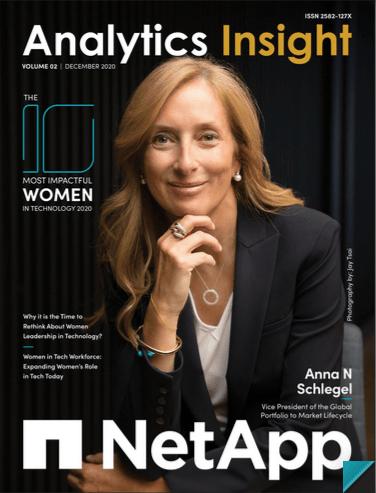 Anna Navarro en la portada de Analytics Insight / Analytics Insight