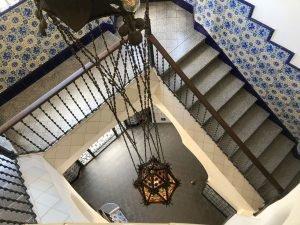 La Torre Bellesguard desde el balcón interior / Aula News