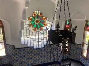 Estrella de Belén y corona de hierro del interior / Aula News