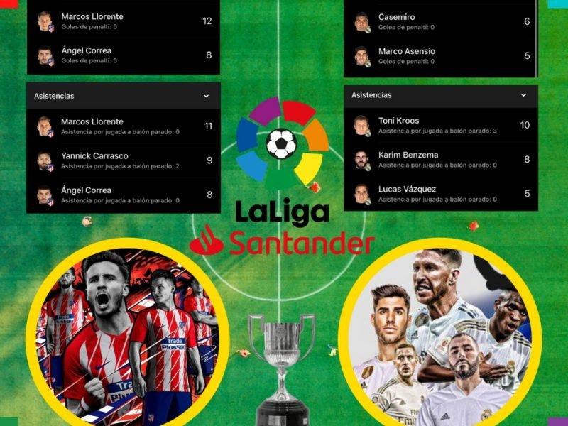 Atlético y Real Madrid se juegan la liga en la última jornada