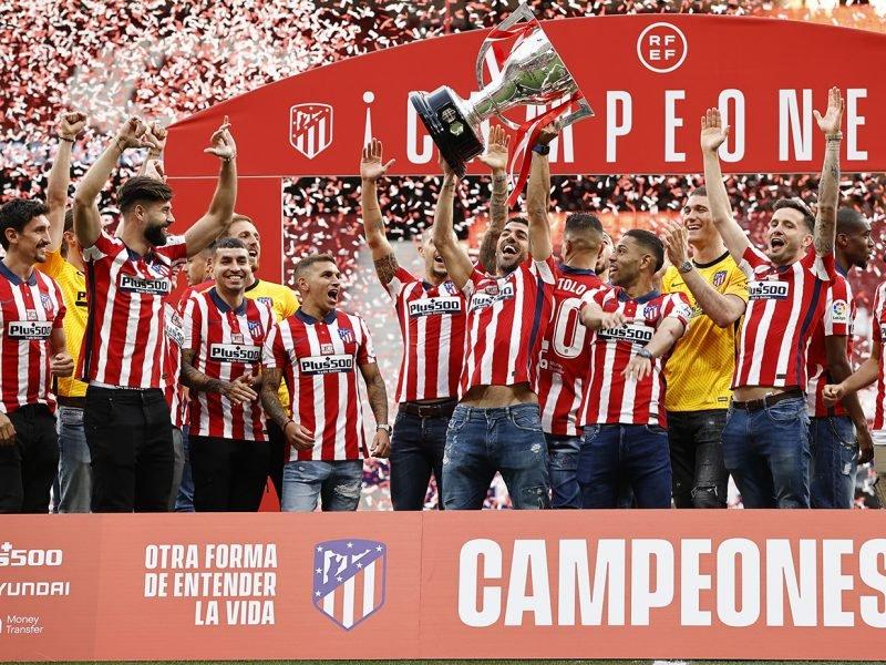 El Atlético vuelve a ganar la liga siete años despúes